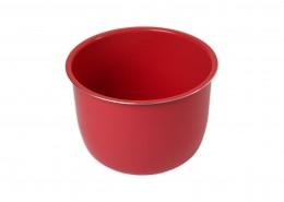 cubeta roja cerámica olla gm