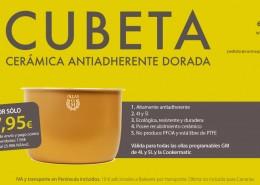 Cubeta cerámica 4L y 5L
