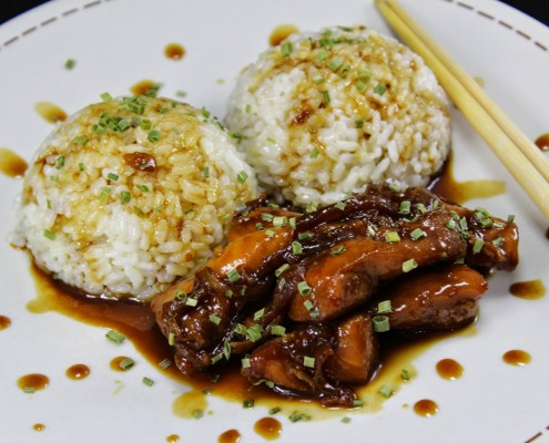 pollo teriyaki olla gm