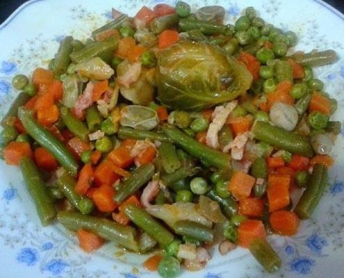 Menestra de verduras con olla gm ollas gm - Menestra de verduras en texturas ...