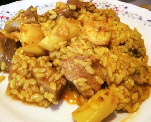 receta de arroz en olla gm