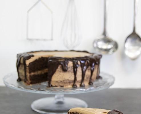 Tarta de moka y chocolate Olla GM
