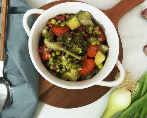 Menestra de verduras en Olla GM