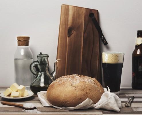 pan de cerveza negra02_pan,masas_vegetariana