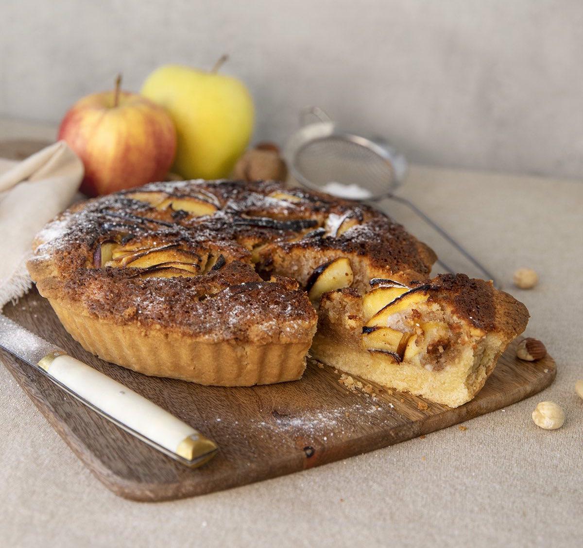 OllaGM_Postre_Tarta de frutos secos y manzana_RRSS